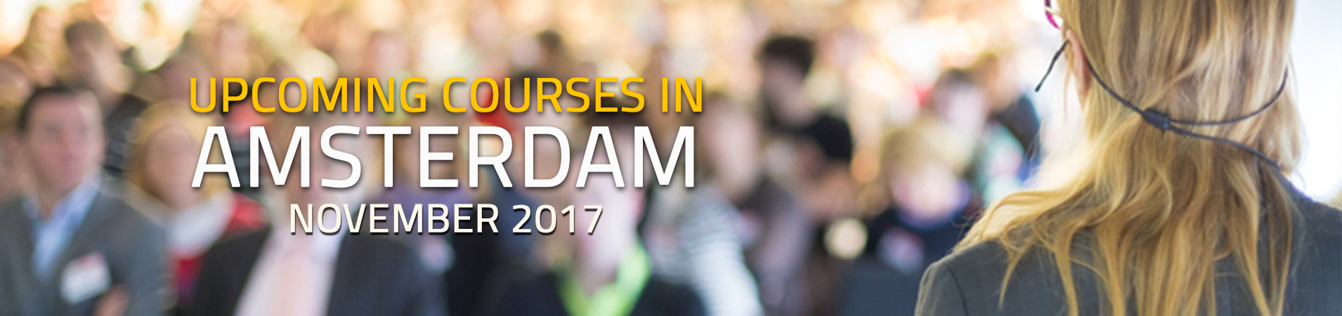 Courses in Amsterdam
